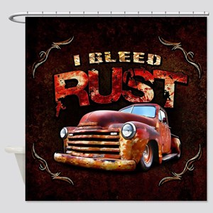 I Bleed Rust Shower Curtain