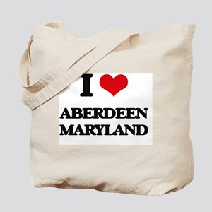 I love Aberdeen Maryland Tote Bag