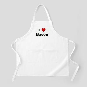 I Love Bacon BBQ Apron