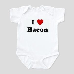 I Love Bacon Infant Bodysuit