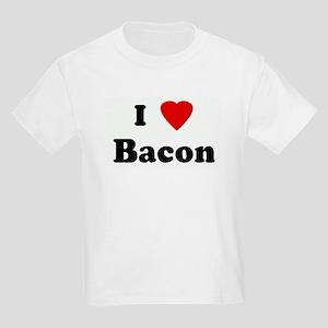 I Love Bacon Kids Light T-Shirt
