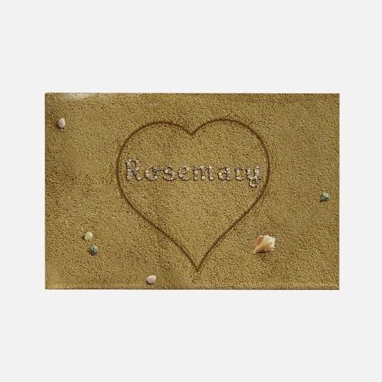 Rosemary Beach Love Rectangle Magnet