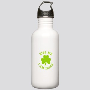 Kiss me I am Irish Stainless Water Bottle 1.0L