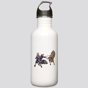 Clowns and Bull-2 with Stainless Water Bottle 1.0L