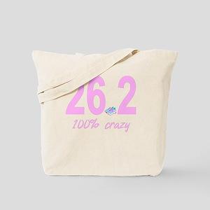 26.2 100% Crazy Tote Bag