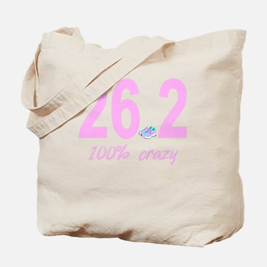 26.2 100% Crazy Tote Bag
