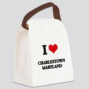 I love Charlestown Maryland Canvas Lunch Bag