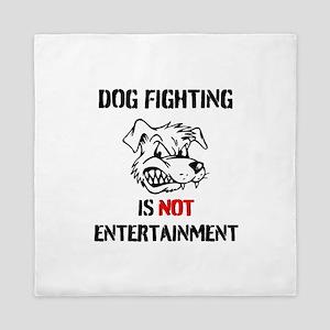 Dog Fighting Queen Duvet