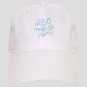 50 years old party Cap
