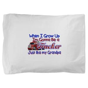 When I Grow Up... Grandpa Pillow Sham