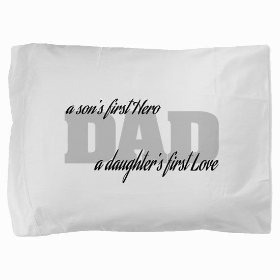 Cute First fathers day Pillow Sham
