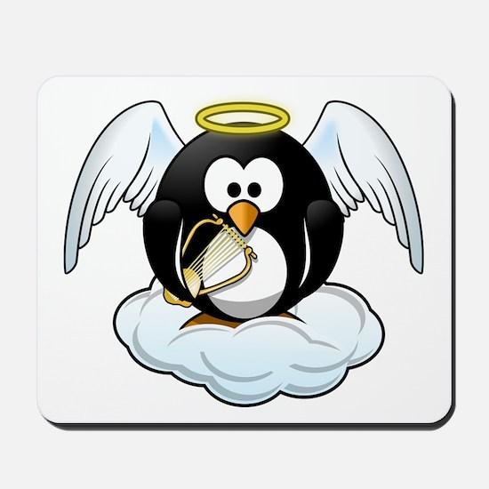 Angel Penguin Mousepad