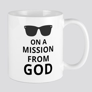 On A Mission From God Mugs
