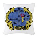 USS GURNARD Woven Throw Pillow
