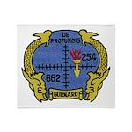USS GURNARD Throw Blanket