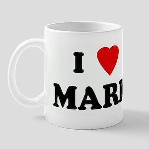 I Love MARK Mug
