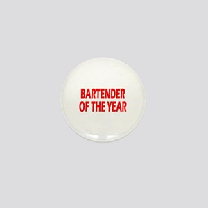 Bartender of the Year Mini Button