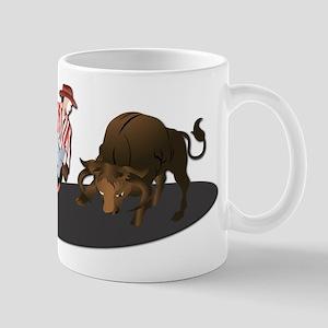 Clown and Bull 1-No-Text Mug