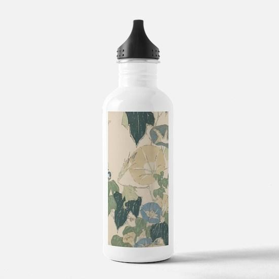 Morning Glories by Hok Water Bottle