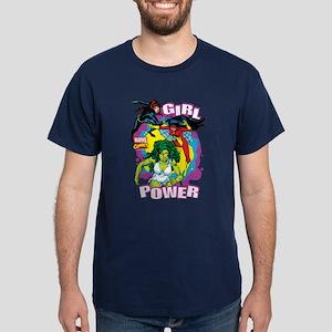 Marvel Comics Girl Power Dark T-Shirt