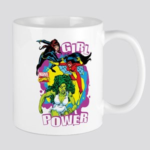 Marvel Comics Girl Power Mug