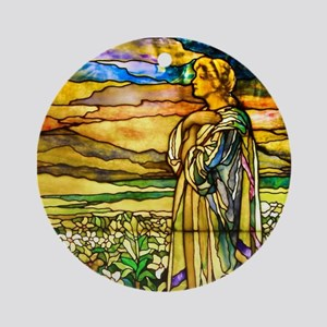 Field of Lilies Ornament (Round)