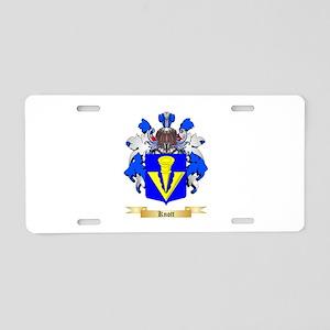 Knott Aluminum License Plate