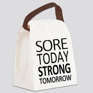 Strong Tomorrow Canvas Lunch Bag