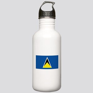 Saint Lucia flag Stainless Water Bottle 1.0L