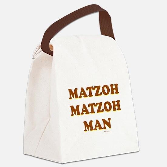 Matzoh Matzoh Man Canvas Lunch Bag