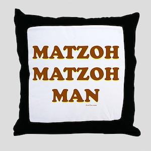 Matzoh Matzoh Man Throw Pillow