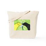 Labs Like to Share Tote Bag