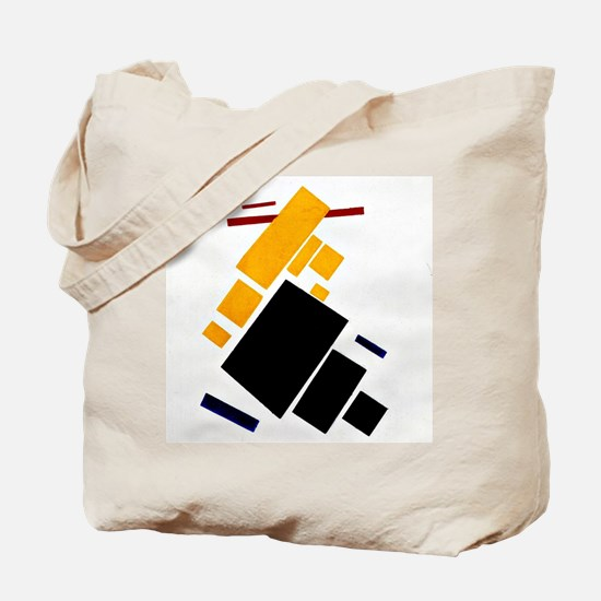 Malevich - Airplane Flying Tote Bag