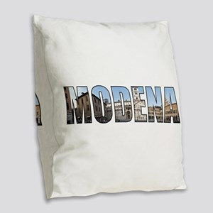 Modena Burlap Throw Pillow