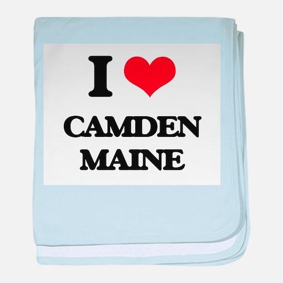 I love Camden Maine baby blanket
