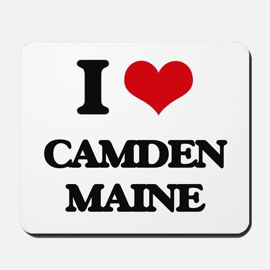 I love Camden Maine Mousepad
