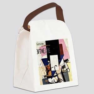 Malevich - Composition with Mona  Canvas Lunch Bag