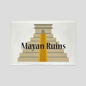 Mayan Ruins Magnets