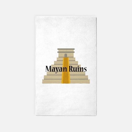 Mayan Ruins Area Rug