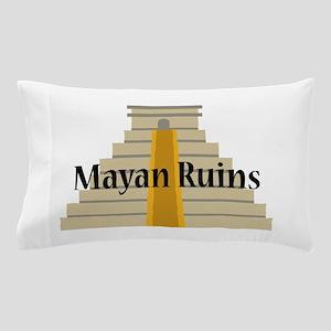 Mayan Ruins Pillow Case