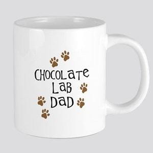 Chocolate Lab Dad Mugs