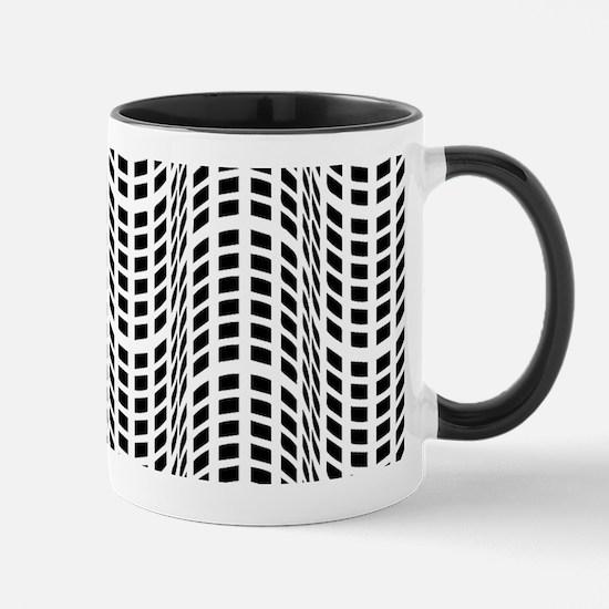Black & White OpArt - Endless Flow Mug