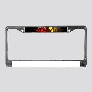 Jack-o-Lantern License Plate Frame
