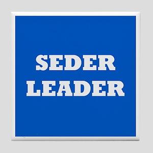 Seder Leader Passover Tile Coaster