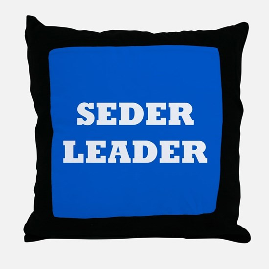 Seder Leader Passover Throw Pillow