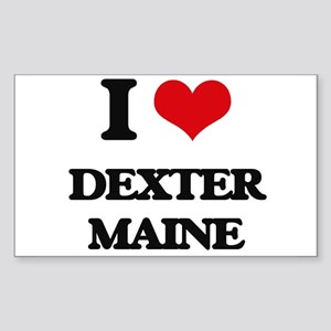 I love Dexter Maine Sticker