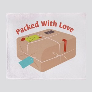 Packed With Love Throw Blanket