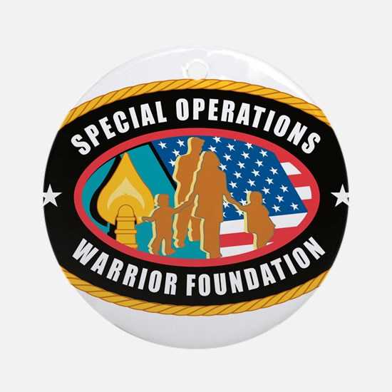 Special Operations Warrior Foundation Ornament (Ro
