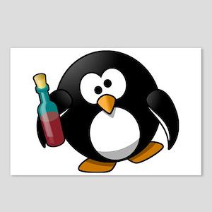 Drunk Penguin Postcards (Package of 8)