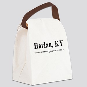 Harlan, KY Canvas Lunch Bag